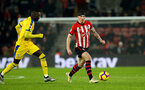 SOUTHAMPTON, ENGLAND - JANUARY 30: Pierre-Emile Hojbjerg of Southampton during the Premier League match between Southampton FC and Crystal Palace at St Mary's Stadium on January 30, 2019 in Southampton, United Kingdom. (Photo by Matt Watson/Southampton FC via Getty Images)
