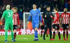 SOUTHAMPTON, ENGLAND - JANUARY 30: Alex McCarthy of Southampton during the Premier League match between Southampton FC and Crystal Palace at St Mary's Stadium on January 30, 2019 in Southampton, United Kingdom. (Photo by Matt Watson/Southampton FC via Getty Images)
