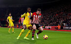 SOUTHAMPTON, ENGLAND - JANUARY 30:  during the Premier League match between Southampton FC and Crystal Palace at St Mary's Stadium on January 30, 2019 in Southampton, United Kingdom. (Photo by Matt Watson/Southampton FC via Getty Images)