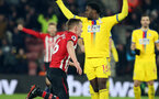 SOUTHAMPTON, ENGLAND - JANUARY 30: James Ward-Prowse's goal celebration during the Premier League match between Southampton FC and Crystal Palace FC at St Mary's Stadium on January 30, 2019 in Southampton, United Kingdom. (Photo by Chris Moorhouse/ Southampton FC via Getty Images)