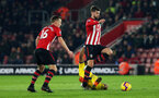 SOUTHAMPTON, ENGLAND - JANUARY 30: Jack Stephens during the Premier League match between Southampton FC and Crystal Palace FC at St Mary's Stadium on January 30, 2019 in Southampton, United Kingdom. (Photo by Chris Moorhouse/ Southampton FC via Getty Images)
