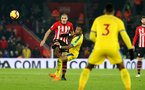 SOUTHAMPTON, ENGLAND - JANUARY 30: Oriol Romeu during the Premier League match between Southampton FC and Crystal Palace FC at St Mary's Stadium on January 30, 2019 in Southampton, United Kingdom. (Photo by Chris Moorhouse/ Southampton FC via Getty Images)