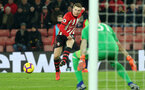 SOUTHAMPTON, ENGLAND - JANUARY 30: Matt Targett during the Premier League match between Southampton FC and Crystal Palace FC at St Mary's Stadium on January 30, 2019 in Southampton, United Kingdom. (Photo by Chris Moorhouse/ Southampton FC via Getty Images)