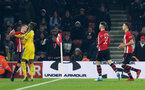 SOUTHAMPTON, ENGLAND - JANUARY 30: Zaha sending off incident during the Premier League match between Southampton FC and Crystal Palace FC at St Mary's Stadium on January 30, 2019 in Southampton, United Kingdom. (Photo by Chris Moorhouse/ Southampton FC via Getty Images)