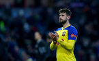 BURNLEY, ENGLAND - FEBRUARY 02: Jack Stephens of Southampton during the Premier League match between Burnley FC and Southampton FC at Turf Moor on February 02, 2019 in Burnley, United Kingdom. (Photo by Matt Watson/Southampton FC via Getty Images)