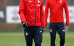 SOUTHAMPTON, ENGLAND - FEBRUARY 05: Pierre-Emile H¿jbjerg during a Southampton FC  training session at Staplewood Complex on February 05, 2019 in Southampton, England. (Photo by James Bridle - Southampton FC/Southampton FC via Getty Images) SOUTHAMPTON, ENGLAND - FEBRUARY 05: Pierre-Emile Højbjerg during a Southampton FC  training session at Staplewood Complex on February 05, 2019 in Southampton, England. (Photo by James Bridle - Southampton FC/Southampton FC via Getty Images)