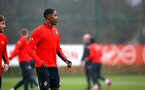 SOUTHAMPTON, ENGLAND - FEBRUARY 05: Kayne Ramsay during a Southampton FC  training session at Staplewood Complex on February 05, 2019 in Southampton, England. (Photo by James Bridle - Southampton FC/Southampton FC via Getty Images)