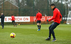 SOUTHAMPTON, ENGLAND - FEBRUARY 05: Mohamed Elyounoussi during a Southampton FC  training session at Staplewood Complex on February 05, 2019 in Southampton, England. (Photo by James Bridle - Southampton FC/Southampton FC via Getty Images)