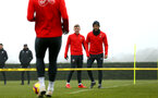 SOUTHAMPTON, ENGLAND - FEBRUARY 05: Ryan Bertrand (right) during a Southampton FC  training session at Staplewood Complex on February 05, 2019 in Southampton, England. (Photo by James Bridle - Southampton FC/Southampton FC via Getty Images)