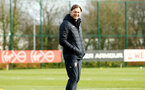 SOUTHAMPTON, ENGLAND - FEBRUARY 06: Ralph Hasenhuttl during a Southampton FC training session at Staplewood Complex on February 06, 2019 in Southampton, England. (Photo by James Bridle - Southampton FC/Southampton FC via Getty Images)