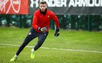 SOUTHAMPTON, ENGLAND - FEBRUARY 06: Angus Gun during a Southampton FC training session at Staplewood Complex on February 06, 2019 in Southampton, England. (Photo by James Bridle - Southampton FC/Southampton FC via Getty Images)