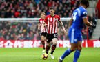 SOUTHAMPTON, ENGLAND - FEBRUARY 09: Pierre-Emile Hojbjerg of Southampton during the Premier League match between Southampton FC and Cardiff City at St Mary's Stadium on February 09, 2019 in Southampton, United Kingdom. (Photo by Matt Watson/Southampton FC via Getty Images)