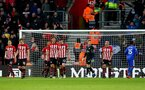 SOUTHAMPTON, ENGLAND - FEBRUARY 09: Players of Southampton dejected during the Premier League match between Southampton FC and Cardiff City at St Mary's Stadium on February 09, 2019 in Southampton, United Kingdom. (Photo by Matt Watson/Southampton FC via Getty Images)