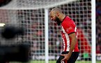 SOUTHAMPTON, ENGLAND - FEBRUARY 09: Nathan Redmond of Southampton shows his frustration during the Premier League match between Southampton FC and Cardiff City at St Mary's Stadium on February 09, 2019 in Southampton, United Kingdom. (Photo by Matt Watson/Southampton FC via Getty Images)