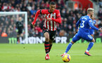 SOUTHAMPTON, ENGLAND - FEBRUARY 09: Yan Valery during the Premier League match between Southampton FC and Cardiff City at St Mary's Stadium on February 9, 2019 in Southampton, United Kingdom. (Photo by Chris Moorhouse/Southampton FC via Getty Images)