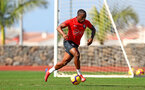 TENERIFE, SPAIN - FEBRUARY 12: Michael Obafemi on day 2 of Southampton FC's winter training Camp, on February 12, 2019 in Tenerife, Spain. (Photo by Matt Watson/Southampton FC via Getty Images)