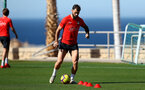 TENERIFE, SPAIN - FEBRUARY 13: Charlie Austin on day 3 of Southampton FC's winter training camp on February 13, 2019 in Tenerife, Spain. (Photo by Matt Watson/Southampton FC via Getty Images)