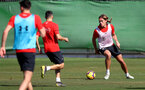 TENERIFE, SPAIN - FEBRUARY 13: Jannik Vestergaard on day 3 of Southampton FC's winter training camp on February 13, 2019 in Tenerife, Spain. (Photo by Matt Watson/Southampton FC via Getty Images)