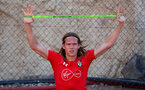 TENERIFE, SPAIN - FEBRUARY 14: Jannik Vestergaard on day 4 of Southampton FC's winter training camp on February 14, 2019 in Tenerife, Spain. (Photo by Matt Watson/Southampton FC via Getty Images)