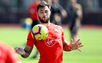 TENERIFE, SPAIN - FEBRUARY 14: Charlie Austin on day 4 of Southampton FC's winter training camp on February 14, 2019 in Tenerife, Spain. (Photo by Matt Watson/Southampton FC via Getty Images)