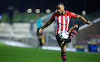 SOUTHAMPTON, ENGLAND - FEBRUARY 15: Tyreke Johnson during the U23s PL2 match between Southampton FC and Fulham FC pictured at Staplewood Complex on February 15, 2019 in Southampton, England. (Photo by James Bridle - Southampton FC/Southampton FC via Getty Images)