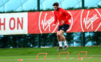 Charlie Austin during a Southampton FC training session at the Staplewood Campus, Southampton, 19th February 2019