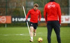 SOUTHAMPTON, ENGLAND - FEBRUARY 20: Stuart Armstrong during a Southampton FC training session pictured at Staplewood Complex on February 20, 2019 in Southampton, England. (Photo by James Bridle - Southampton FC/Southampton FC via Getty Images)