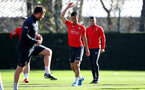 SOUTHAMPTON, ENGLAND - FEBRUARY 26: Maya Yoshida during a Southampton FC training session at the Staplewood Campus on February 26, 2019 in Southampton, England. (Photo by Matt Watson/Southampton FC via Getty Images)