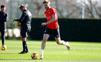 SOUTHAMPTON, ENGLAND - FEBRUARY 26: Stuart Armstrong during a Southampton FC training session at the Staplewood Campus on February 26, 2019 in Southampton, England. (Photo by Matt Watson/Southampton FC via Getty Images)