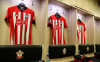SOUTHAMPTON, ENGLAND - FEBRUARY 27: Inside the Southampton FC dressing room during the Premier League match between Southampton FC and Fulham FC at St Mary's Stadium on February 27, 2019 in Southampton, United Kingdom. (Photo by Matt Watson/Southampton FC via Getty Images)