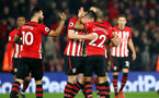 SOUTHAMPTON, ENGLAND - FEBRUARY 27: Players of Southampton celebrate during the Premier League match between Southampton FC and Fulham FC at St Mary's Stadium on February 27, 2019 in Southampton, United Kingdom. (Photo by Matt Watson/Southampton FC via Getty Images)