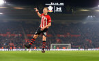 SOUTHAMPTON, ENGLAND - FEBRUARY 27:  James Ward-Prowse of Southampton FC scores and celebrates during the Premier League match between Southampton FC and Fulham FC at St Mary's Stadium on February 27, 2019 in Southampton, United Kingdom. (Photo by James Bridle - Southampton FC/Southampton FC via Getty Images)