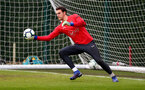 SOUTHAMPTON, ENGLAND - MARCH 01: Alex McCarthy during a Southampton FC training session at the Staplewood Campus on March 01, 2019 in Southampton, England. (Photo by Matt Watson/Southampton FC via Getty Images)