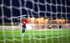 SOUTHAMPTON, ENGLAND - MARCH 01: Fraser Forster of Southampton FC warms up ahead of the PL2 match between Southampton FC and Reading FC pictured at Staplewood Complex on March 01, 2019 in Southampton, England. (Photo by James Bridle - Southampton FC/Southampton FC via Getty Images)