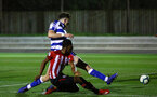 SOUTHAMPTON, ENGLAND - MARCH 01: Kayne Ramsay of Southampton FC edges the ball inside the box during the PL2 match between Southampton FC and Reading FC pictured at Staplewood Complex on March 01, 2019 in Southampton, England. (Photo by James Bridle - Southampton FC/Southampton FC via Getty Images)