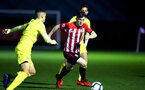 SOUTHAMPTON, ENGLAND - MARCH 06: Will Ferry  (middle) during the U23's International Cup match between Southampton FC vs Villarreal pictured at Staplewood Complex on March 06, 2019 in Southampton, England. (Photo by James Bridle - Southampton FC/Southampton FC via Getty Images)