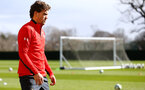 SOUTHAMPTON, ENGLAND - MARCH 07:  Sam Gallagher during a Southampton FC training session pictured at Staplewood Complex on March 07, 2019 in Southampton, England. (Photo by James Bridle - Southampton FC/Southampton FC via Getty Images)