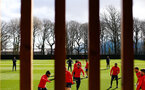 SOUTHAMPTON, ENGLAND - MARCH 07:  General view during a Southampton FC training session pictured at Staplewood Complex on March 07, 2019 in Southampton, England. (Photo by James Bridle - Southampton FC/Southampton FC via Getty Images)