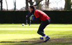 SOUTHAMPTON, ENGLAND - MARCH 07:  Alex McCarthy during a Southampton FC training session pictured at Staplewood Complex on March 07, 2019 in Southampton, England. (Photo by James Bridle - Southampton FC/Southampton FC via Getty Images)
