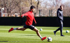 SOUTHAMPTON, ENGLAND - MARCH 07:  Shane Long during a Southampton FC training session pictured at Staplewood Complex on March 07, 2019 in Southampton, England. (Photo by James Bridle - Southampton FC/Southampton FC via Getty Images)