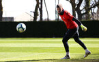 SOUTHAMPTON, ENGLAND - MARCH 07:  Fraser Forster during a Southampton FC training session pictured at Staplewood Complex on March 07, 2019 in Southampton, England. (Photo by James Bridle - Southampton FC/Southampton FC via Getty Images)