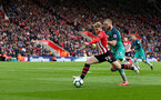SOUTHAMPTON, ENGLAND - MARCH 09: Josh Sims of Southampton during the Premier League match between Southampton FC and Tottenham Hotspur at St Mary's Stadium on March 09, 2019 in Southampton, United Kingdom. (Photo by Matt Watson/Southampton FC via Getty Images)