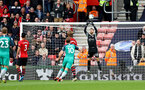 SOUTHAMPTON, ENGLAND - MARCH 09: Angus Gunn of Southampton saves during the Premier League match between Southampton FC and Tottenham Hotspur at St Mary's Stadium on March 09, 2019 in Southampton, United Kingdom. (Photo by Matt Watson/Southampton FC via Getty Images)