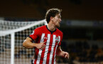 WOLVERHAMPTON, ENGLAND - MARCH 05:  Sam Gallagher during the PL2 U23's match between Wolverhampton Wanders and Southampton FC at Molineux Stadium in Wolverhampton, England, on March 05, 2019 (Photo by James Bridle - Southampton FC/Southampton FC via Getty Images)
