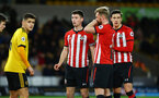 WOLVERHAMPTON, ENGLAND - MARCH 05:  Tom O'Connor  (middle) during the PL2 U23's match between Wolverhampton Wanders and Southampton FC at Molineux Stadium in Wolverhampton, England, on March 05, 2019 (Photo by James Bridle - Southampton FC/Southampton FC via Getty Images)