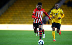 WOLVERHAMPTON, ENGLAND - MARCH 05:  Nathan Tella during the PL2 U23's match between Wolverhampton Wanders and Southampton FC at Molineux Stadium in Wolverhampton, England, on March 05, 2019 (Photo by James Bridle - Southampton FC/Southampton FC via Getty Images)