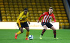 WOLVERHAMPTON, ENGLAND - MARCH 05:  Will Smallbone (right) during the PL2 U23's match between Wolverhampton Wanders and Southampton FC at Molineux Stadium in Wolverhampton, England, on March 05, 2019 (Photo by James Bridle - Southampton FC/Southampton FC via Getty Images)