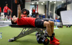 Oriol Romeu during a Southampton gym session, at the Staplewood Campus, Southampton, 12th March 2019