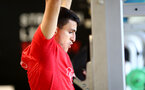 Mohamed Elyounoussi during a Southampton gym session, at the Staplewood Campus, Southampton, 12th March 2019