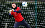 SOUTHAMPTON, ENGLAND - MARCH 13: Alex McCarthy during a Southampton FC training session at Staplewood Complex on March 13, 2019 in Southampton, England. (Photo by James Bridle - Southampton FC/Southampton FC via Getty Images)